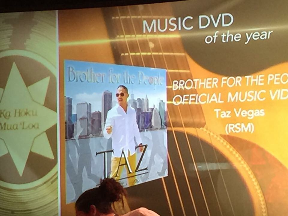 """PS Here is the You Tube link in case you did not get the chance to experience this award winning music video! """"Brother For The People-Taz Vegas Music Video"""""""